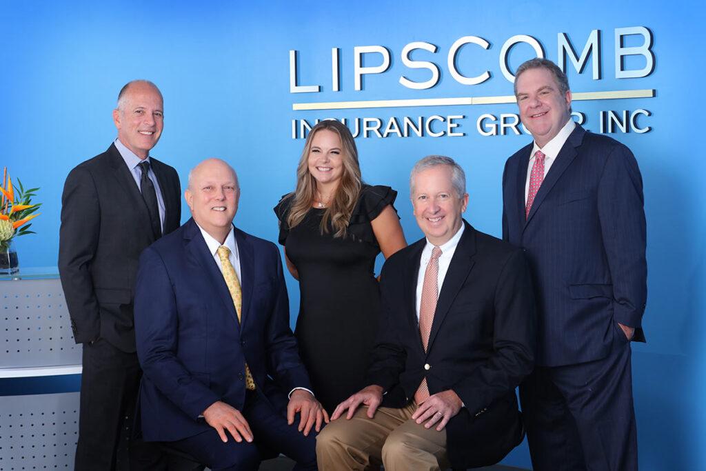 Lipscomb Insurance Group, Inc, Dallas, Texas: Tom Gibson, Randy Rekerdres, Shyla Lankford, Jay Lipscomb, Charles S. Lipscomb II